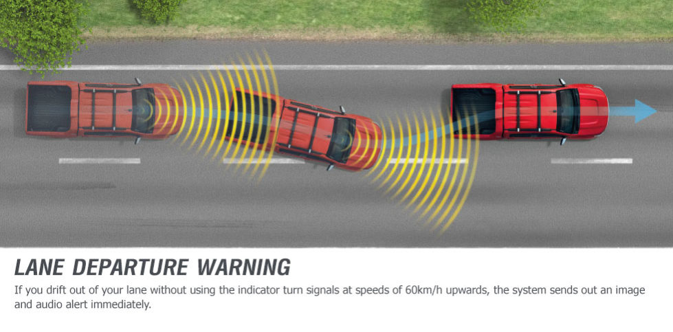 Colorado LTZ lane departure warning