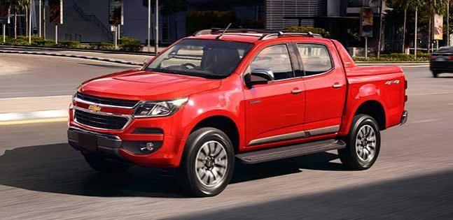 Chevrolet Colorado LT red