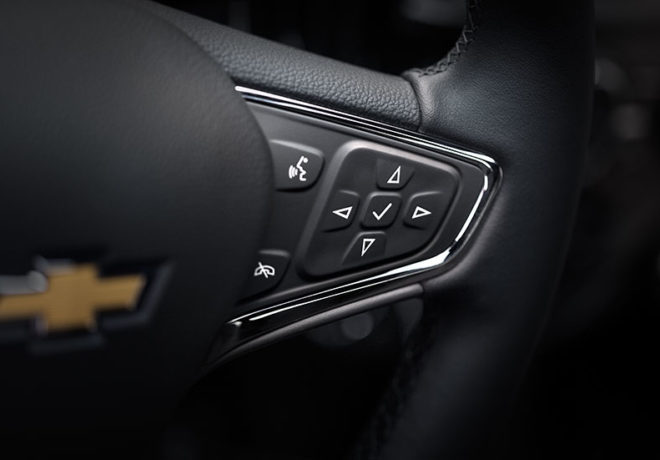Chevrolet Cruze control buttons