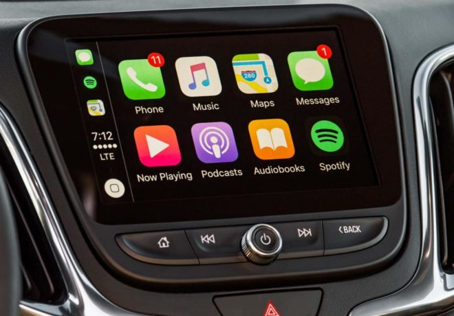 Chevrolet equinox music system
