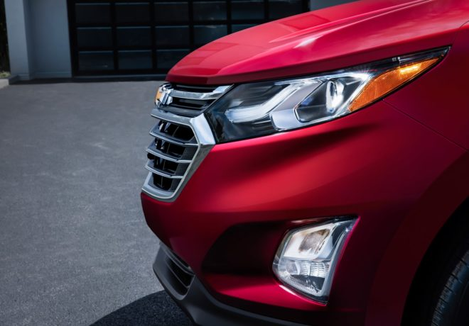 Chevrolet equinox front grill