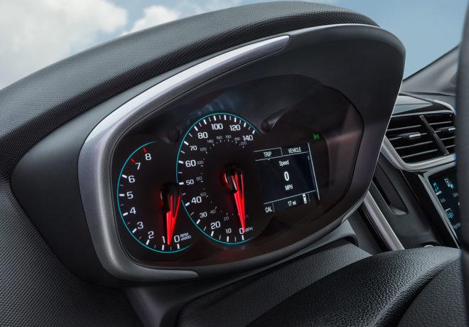 Chevrolet Sonic speedometer