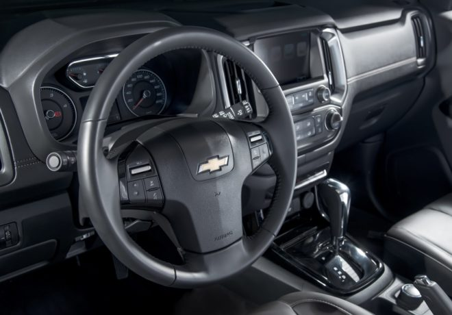 Trailblazer interior