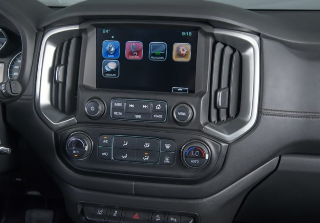 Trailblazer control unit