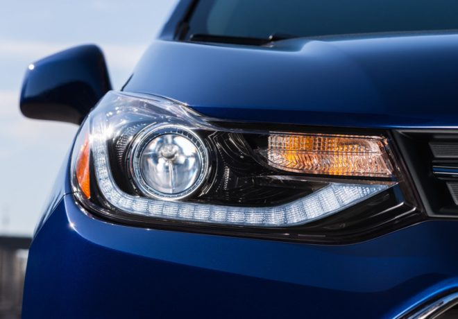 Trax crossover headlight